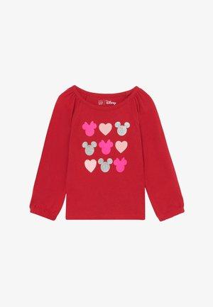 TODDLER GIRL LOVE - Top sdlouhým rukávem - modern red