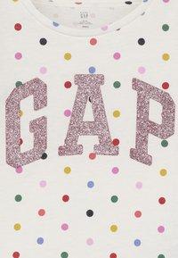 GAP - TODDLER GIRL LOGO  - Longsleeve - ivory frost - 3