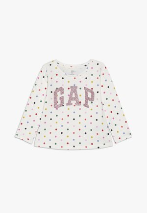 TODDLER GIRL LOGO  - Maglietta a manica lunga - ivory frost