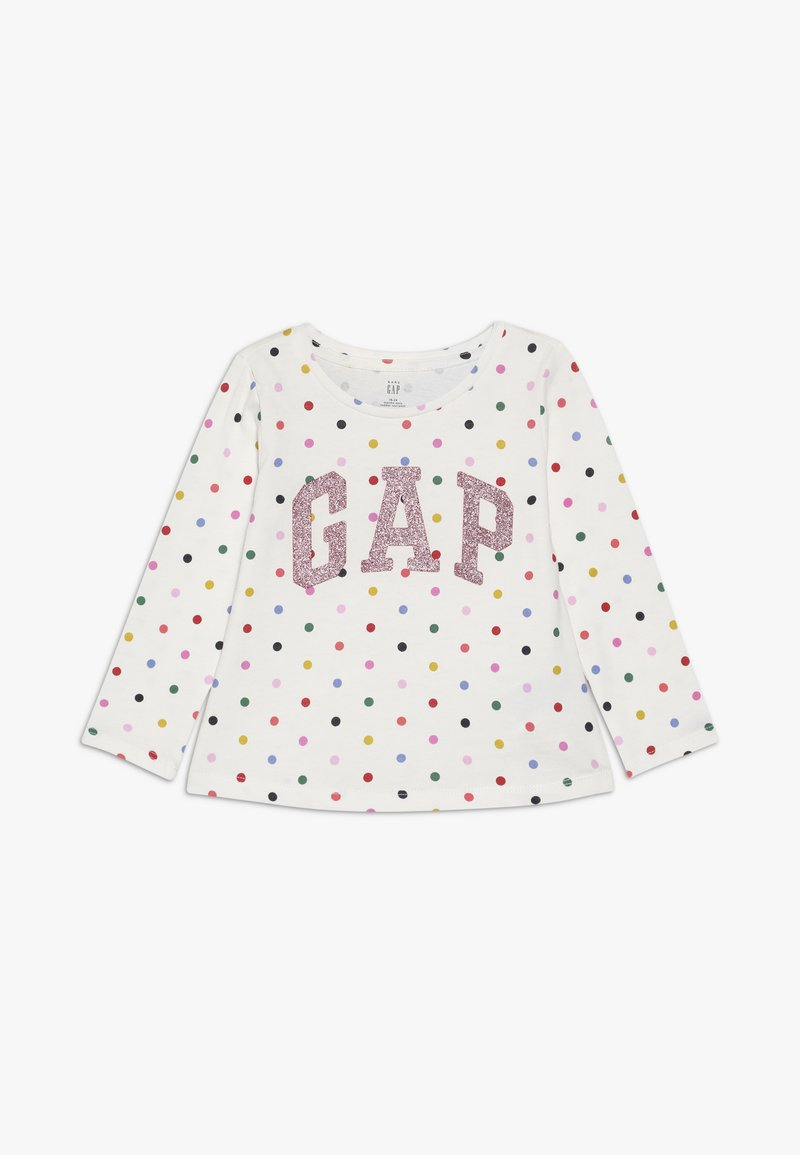 GAP - TODDLER GIRL LOGO  - T-shirt à manches longues - ivory frost