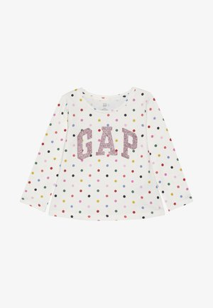 TODDLER GIRL LOGO  - Camiseta de manga larga - ivory frost