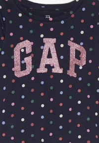 GAP - TODDLER GIRL LOGO  - Top s dlouhým rukávem - navy uniform - 3