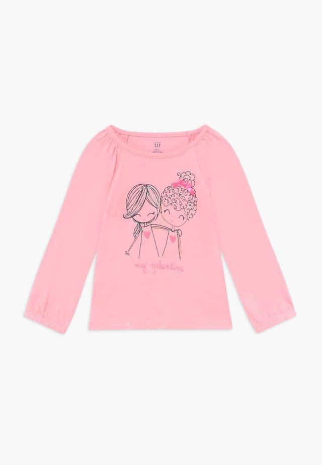 TODDLER GIRL LOVE - Langarmshirt - classic pink