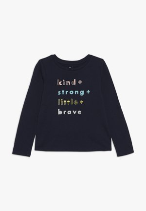 TODDLER GIRL  - Long sleeved top - blue galaxy