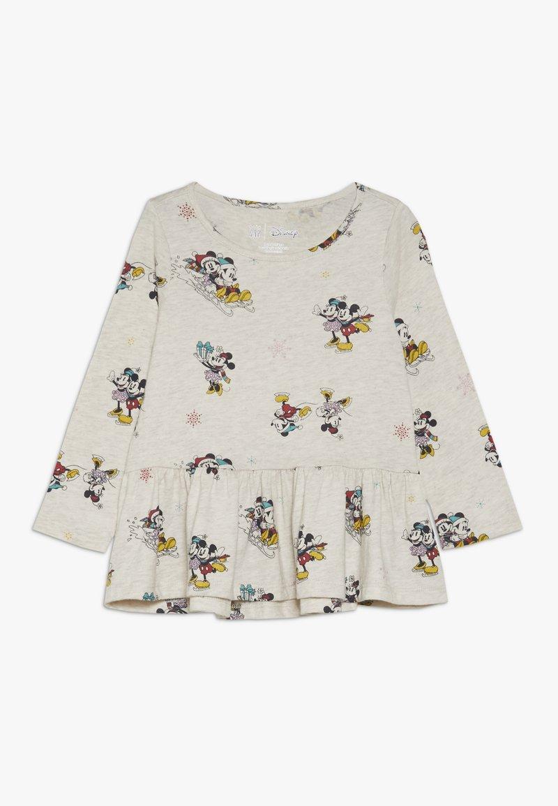 GAP - TODDLER GIRL  - Maglietta a manica lunga - oatmeal