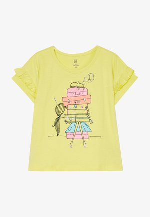 TODDLER GIRL  - T-shirt con stampa - yellow