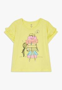 GAP - TODDLER GIRL  - Triko spotiskem - yellow - 0