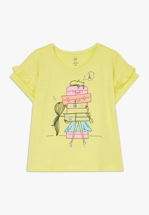 TODDLER GIRL  - T-shirt z nadrukiem - yellow