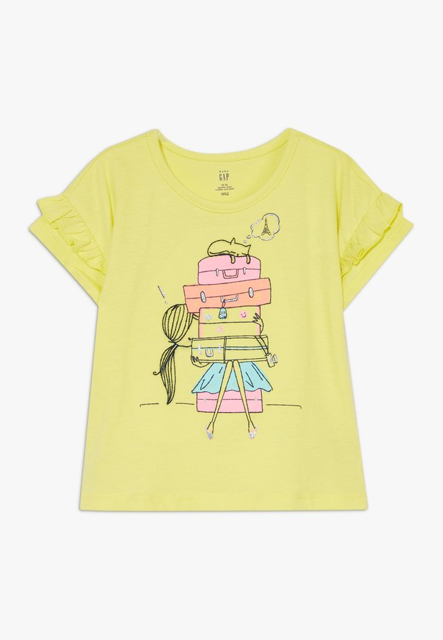 TODDLER GIRL  - Print T-shirt - yellow