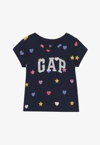 GAP - TODDLER GIRL LOGO - Camiseta estampada - geo heart - 2