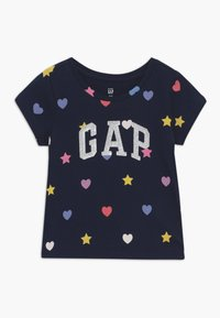 GAP - TODDLER GIRL LOGO - Camiseta estampada - geo heart - 0