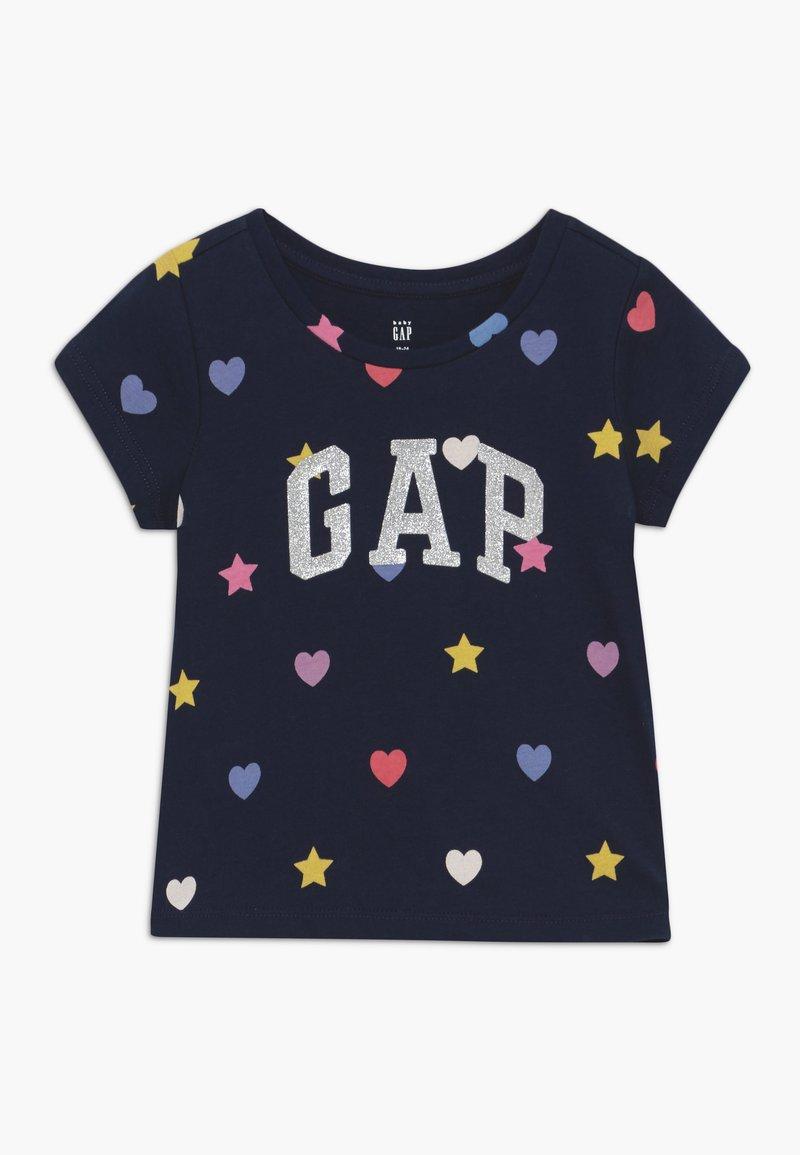 GAP - TODDLER GIRL LOGO - Camiseta estampada - geo heart