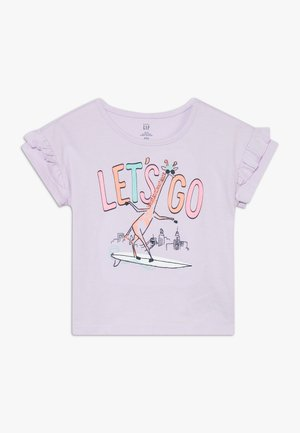 TODDLER GIRL  - Print T-shirt - pale lilac