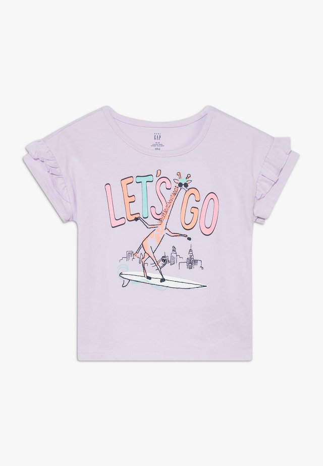 TODDLER GIRL  - Camiseta estampada - pale lilac