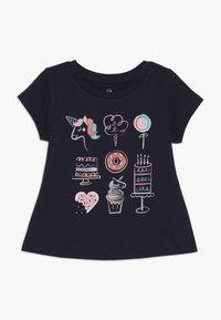 GAP - TODDLER GIRLS  - T-shirt imprimé - blue galaxy - 0