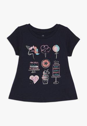 TODDLER GIRLS  - T-shirt imprimé - blue galaxy
