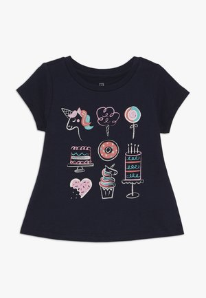 TODDLER GIRLS  - T-shirt print - blue galaxy