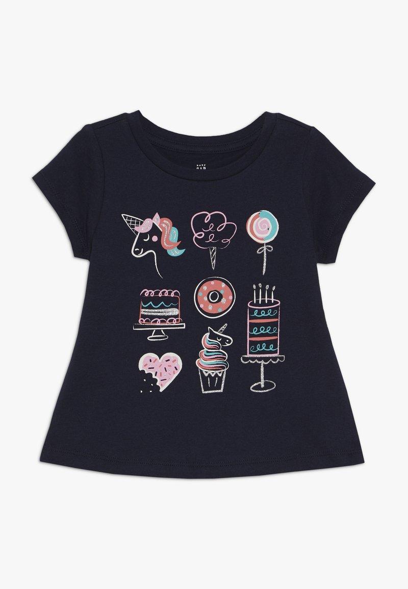 GAP - TODDLER GIRLS  - T-shirt imprimé - blue galaxy