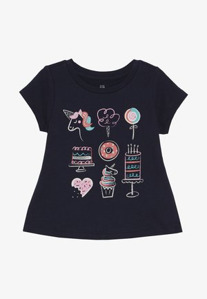 TODDLER GIRLS  - Print T-shirt - blue galaxy