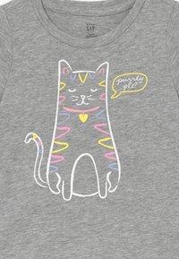 GAP - TODDLER GIRLS - T-shirt imprimé - grey heather - 3