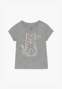 GAP - TODDLER GIRLS - T-shirt imprimé - grey heather - 2