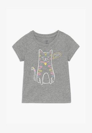 TODDLER GIRLS - Print T-shirt - grey heather