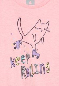 GAP - TODDLER GIRL - Triko spotiskem - pink cat - 3