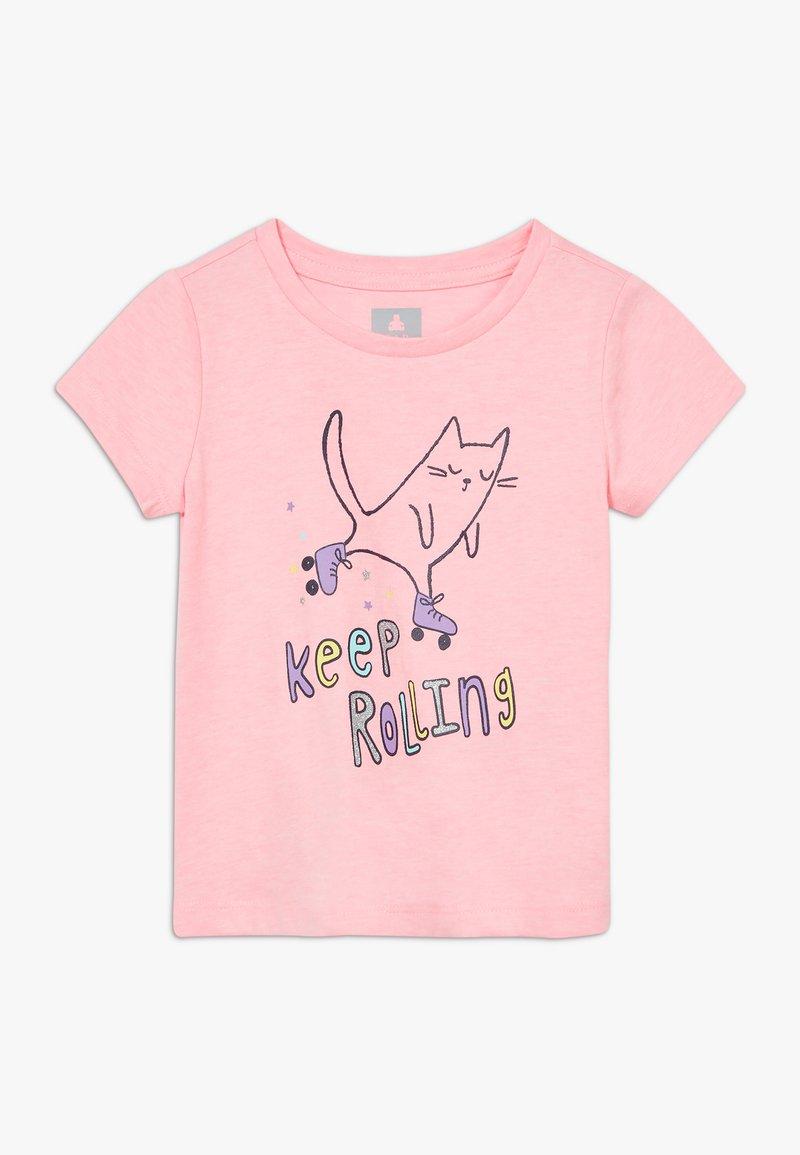 GAP - TODDLER GIRL - Triko spotiskem - pink cat