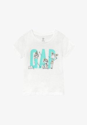 TODDLER GIRL LOGO - Camiseta estampada - new off white