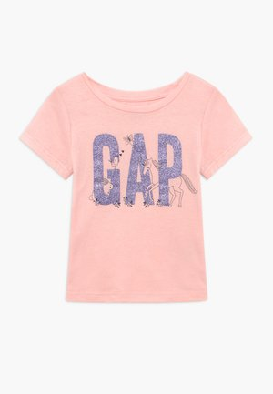 TODDLER GIRL LOGO - Camiseta estampada - icy pink