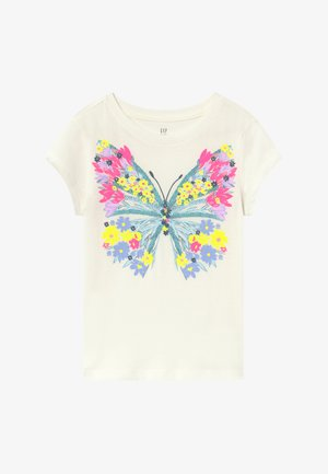 GIRL  - T-Shirt print - new off white