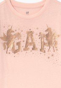 GAP - GIRL  - Print T-shirt - milkshake pink - 3