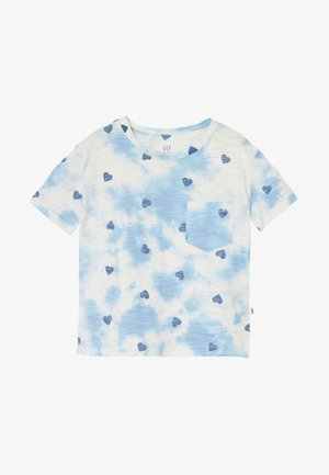 GIRL POCKET TEE - T-shirt print - blue