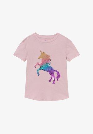 GIRL - Camiseta estampada - quartz pink