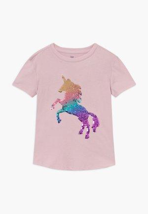 GIRL - T-shirts med print - quartz pink