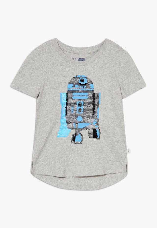 GIRL - T-Shirt print - grey heather