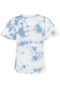 GAP - GIRL LOGO TIE DYE - Print T-shirt - blue - 1