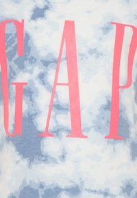 GAP - GIRL LOGO TIE DYE - Print T-shirt - blue - 2