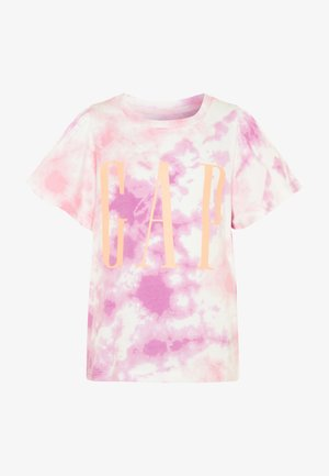 GIRL LOGO TIE DYE - T-shirt print - multicolor