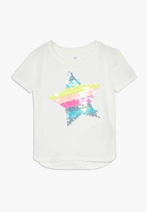 GIRL  - Camiseta estampada - new off white
