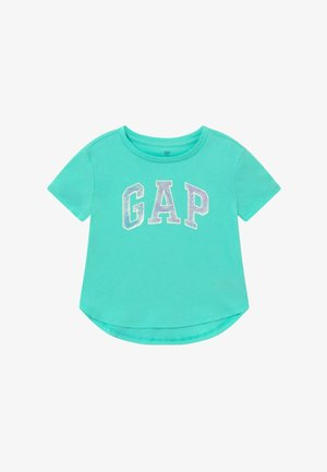 GIRL ARCH - Print T-shirt - aqua tide