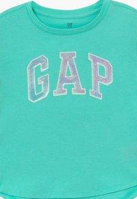 GAP - GIRL ARCH - Print T-shirt - aqua tide - 3