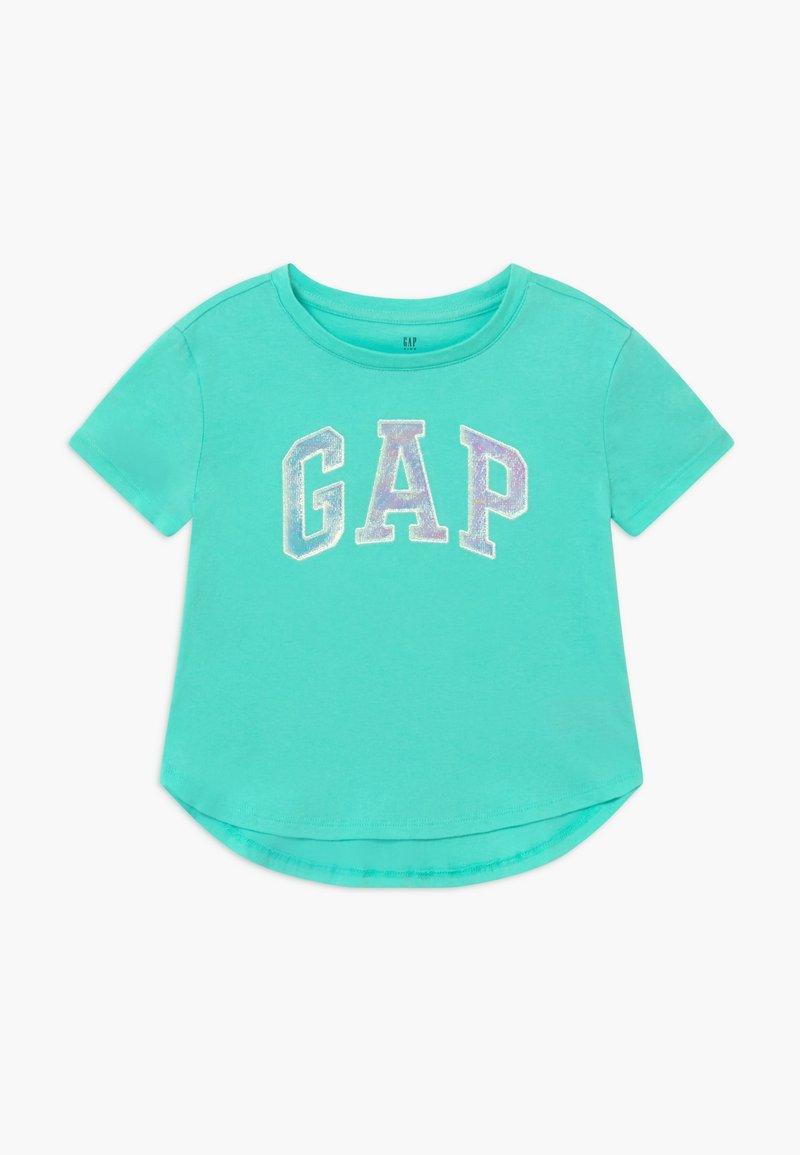 GAP - GIRL ARCH - Print T-shirt - aqua tide