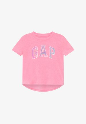 GIRL ARCH - Print T-shirt - neon impulsive pink