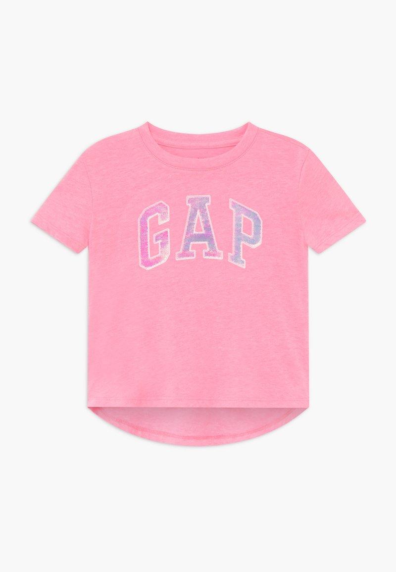 GAP - GIRL ARCH - Print T-shirt - neon impulsive pink