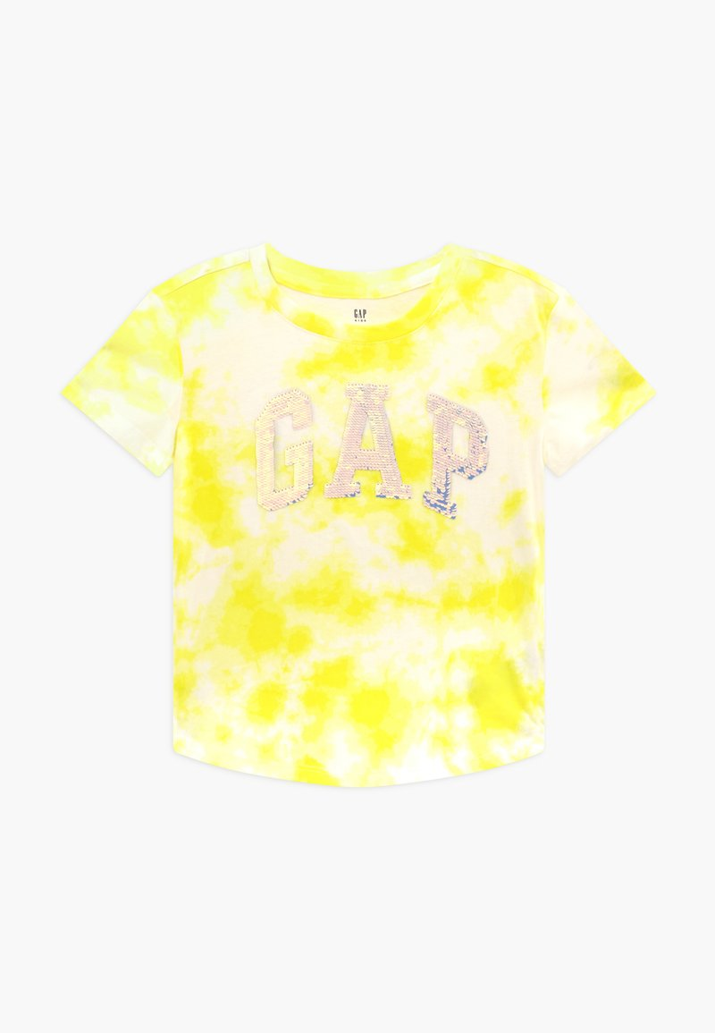 GAP - GIRL ARCH  - Print T-shirt - yellow