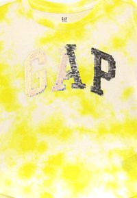 GAP - GIRL ARCH  - Print T-shirt - yellow - 3