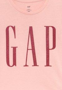GAP - TODDLER GIRL LOGO  - Triko spotiskem - icy pink - 3