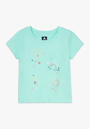 TODDLER GIRL  - Camiseta estampada - turquoise