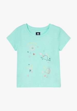 TODDLER GIRL  - Print T-shirt - turquoise